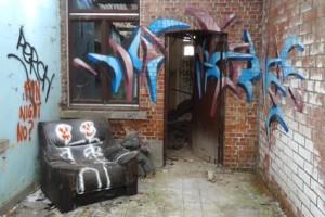 Maison abandonne / Doel (Belgique)